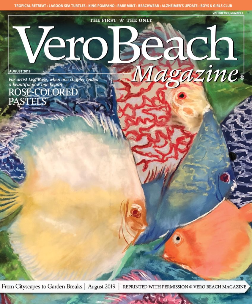 Vero Beach Magazine - August 2019 - cover