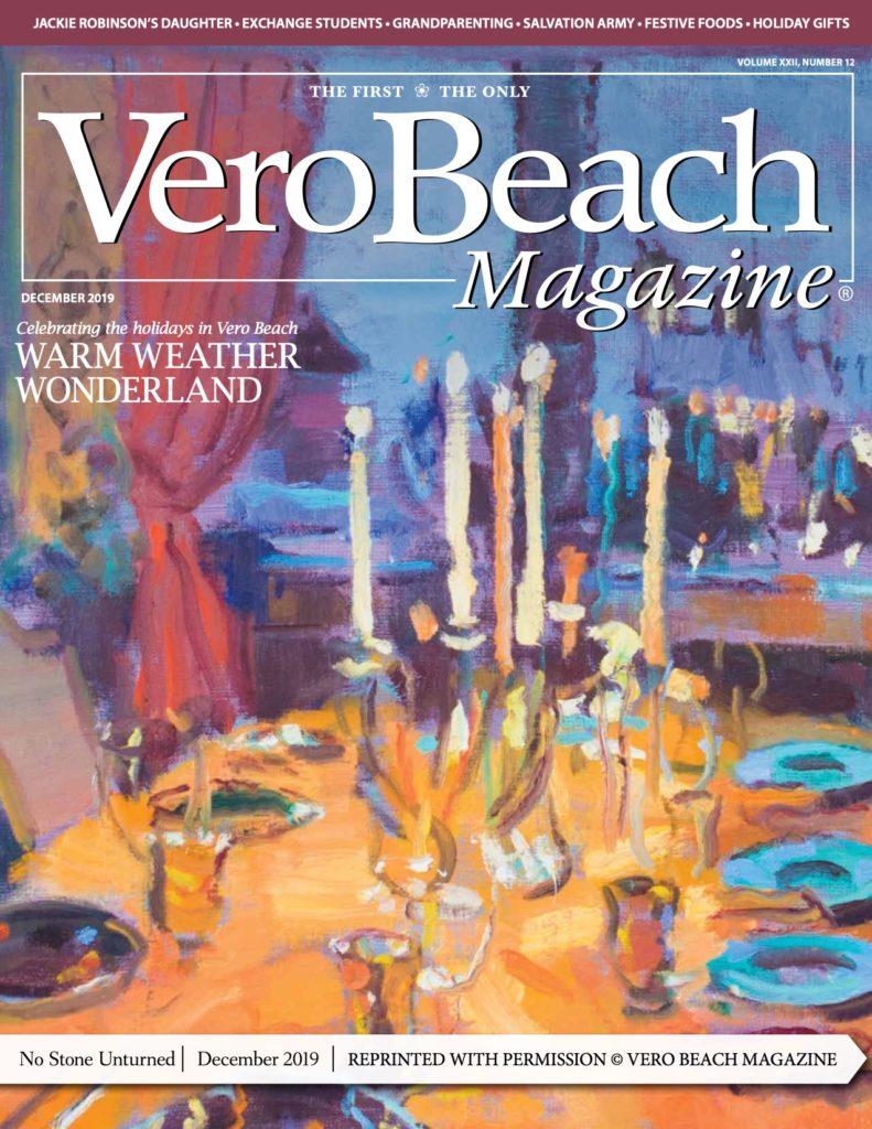Vero Beach Magazine - December 2019 - cover